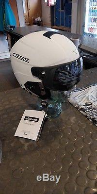 Cebe Element Visor Helmet (Matt White, 59-61cm)
