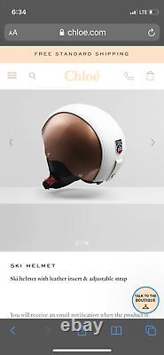 Chloe Fusalp Ski Snowboard Helmet- Small