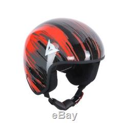Dainese GT Carbon WC Ski-Helm Gr. S Skihelm Carbonhelm Ski Helm rot/schwarz