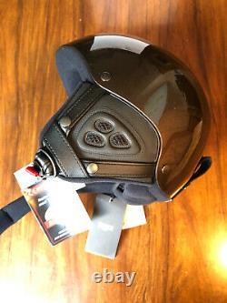 FENDI FF-stripe ski helmet Size M