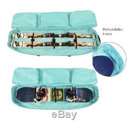 Fully Padded Wheel Travel Bag Ski Bag Large Boot Helmet Snowboard Bag Waterproof