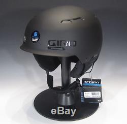 GIRO Discord Ski & Snowboard Helmet Matte Black, Medium (21.75-23 in)