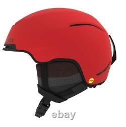 Giro JACKSON Mips Ski Helmet Snowboard Helmet Mat Bright Red Black