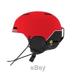Giro Ledge SL MIPS Race Helmet Matte Red, Large (59-62.5cm)
