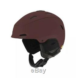 Giro Range MIPS Ski/Snowboard Helmet Matte Maroon, Large (59cm-62.5cm) NEW