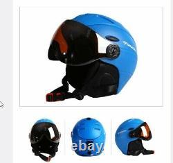 Goggles Ski Helmet PC Snowboard Men Women Winter Outdoor Sports Cycling Skiing