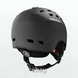 HEAD Radar + Spare Lens Black M-L Ski Snowboard Visor Helmet HS20