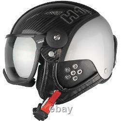 HMR H1 Visierhelm Skihelm Snowboardhelm Protektion Ski Snowboard Helm mit Carbon