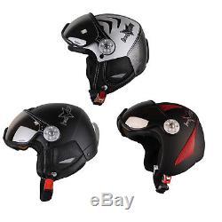 HMR H2 Ski Snowboard Helm mit Visier Snowboardhelm Skihelm Helmet mit Visor
