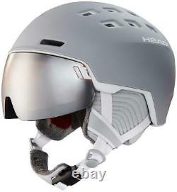 Head Rachel Visor Womens Ski + Snowboard Helmet Grey 2020