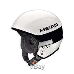 Head Unisex Skihelm Snowboard Helm Rennhelm Helmet Stivot Race Carbon weiss