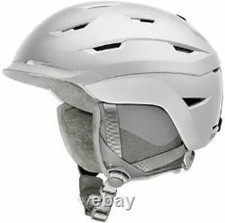 Helmet Womens Medium White Ski Snowboard Smith Liberty Matte Satin 55 59 CM