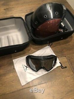 Indigo Ski Helmet Carbon Royal Red