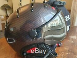 KASK Elite Pro Carbon Ski Helmet NEW 58 M with KASK Super Plasma V2 Visor
