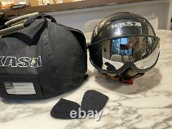 KASK PIUMA Top Of The Line Skiing/Snowboarding Helmet with Visor, Size 58