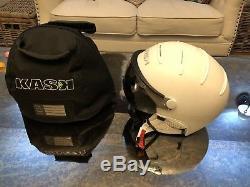 Kask Visor shadow Ski Helmet White Size L/59cm