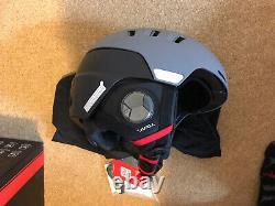 Livall Smart Ski Helmet RS1 Graphite Black 57-61cm Brand New