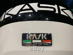 NEW KASK Class Sport Ski Helmet w Visor 50% OFF BLACK METALLIC S 56 ITALY $500