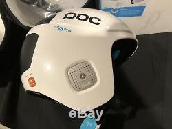 NEW POC Skull Orbic Comp Spin Ski Helmet 55-56cm Medium Julia White Edition