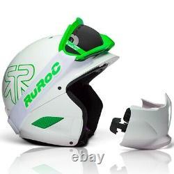 Neuer Skihelm von RuRoc RG-1 DX Viper in weiß