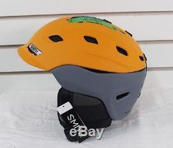 New 2017 Smith Vantage Ski Snowboard Helmet Adult Medium Matte Solar Charcoal