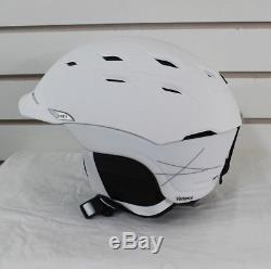 New 2017 Smith Variance Ski Snowboard Helmet Adult Medium Matte White