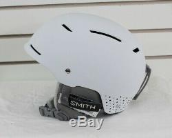 New 2017 Smith Womens Pointe Ski Snowboard Helmet Adult Small White Dots