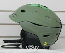 New 2018 Smith Vantage MIPS Ski Snowboard Helmet Adult Small Matte Olive