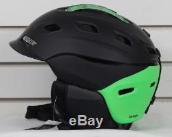 New 2018 Smith Vantage Ski Snowboard Helmet Adult Large Matte Black Split