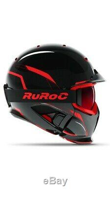 New! 2019 Ruroc Rg1-dx Chaos Inferno Helmet M/l