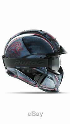 New! 2019 Ruroc Special Edition Rg1-dx Machine Helmet M/l