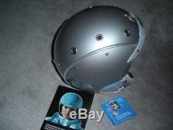 New Bogner Ski Helmet, Pure Platinum, Size M, Retail $699