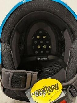 New Giro Avance Mips Snow Ski Helmet Adult Medium Matte Teal Carbon M