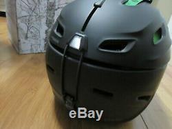 New Smith Vantage Matte Black Large 59-63 H16-vamblg Snow Ski Helmet Snowboard