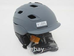 New! Smith Vantage Snow Helmet with MIPS Size Large (59-63 cm) gray with vents