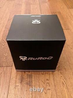 New & Unused Ruroc RG1-DX Onyx M/L
