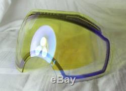 OAKLEY AIRBRAKE OO 7037-12 Blackout + Prizm Jade Iridium + Hi Yellow NEU