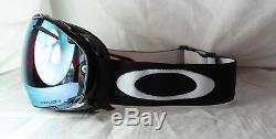 OAKLEY AIRBRAKE OO 7037-38 Jet Black Prizm Sapphire Iridium + Prizm Rose NEU