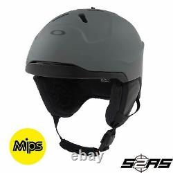 Oakley MOD 3 Snowboard / Ski Helmet with MIPS (Forged Iron)
