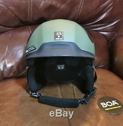 Oakley MOD 5 BOA Adult Ski Snow Helmet, SMALL, Dark Brush Green 99430-86V MOD5
