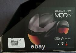 Oakley MOD 5 Ski Helmet and Oakley Flight Deck XM Goggles