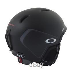Oakley MOD3 2017 Snowboarding Helmet Matte Black Mens S Small Unisex Ski Snow