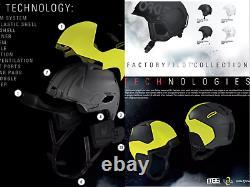 Oakley MOD3 2021 Factory Pilot Blackout Europe Ski Helmet Snowboard Helmet Eu S