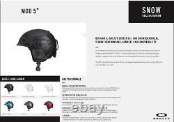 Oakley MOD5 Factory Pilot Matt Black Europe Ski Helmet Snowboard 2020 Eu M
