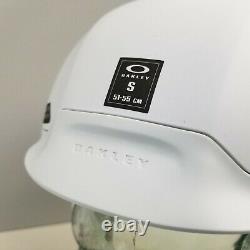 Oakley MOD5 Factory Pilot Matte White Snow Helmet Size Small New