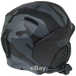 Oakley MOD5 Factory Pilot Snow Helmet L Large Matte Night Camo Ski Snowboard
