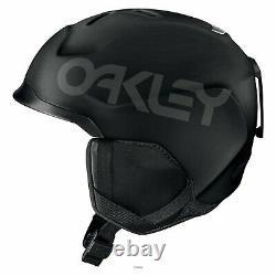 Oakley mod3 factory pilot helmet blackout casco new ski snowboard neve s m l