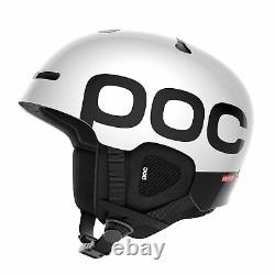 POC Auric Cut Backcountry Spin Ski Snow Helmet Hydrogen White XL XXL