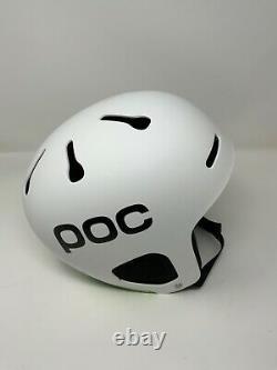 POC Auric Pro Snow Ski Snowboard Helmet VPD 2.0 Matt White XL-XXL 59-62cm