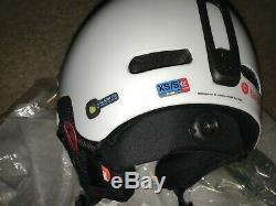 POC Fornix Communication Helmet, White, XS-S. 51-54 cm. NEW. No org. Box